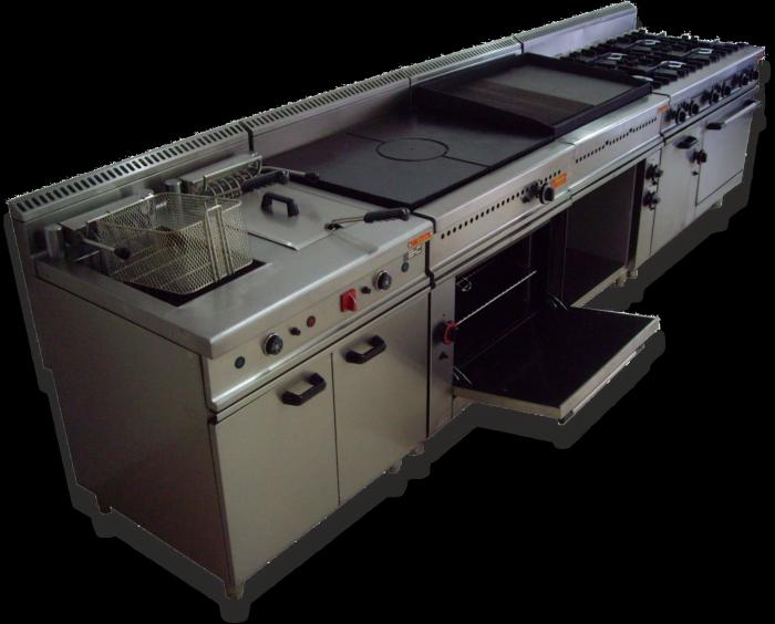 Genial cocina industrial fotos cocina industrial tipo - Diseno cocina industrial ...