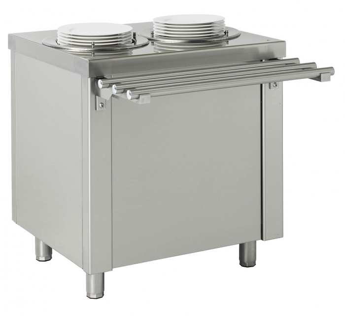 BUFFETS Y SELF SERVICE MUEBLE DISPENSADOR DE PLATOS SELF SERVICE SDPN-80